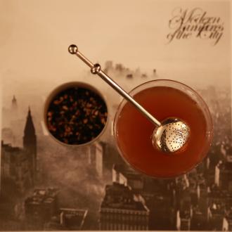 Chai tea and Manhattan